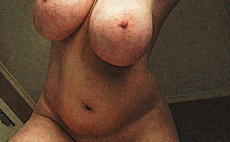mollige vrouw naakt
